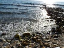 opinión hermosa del mar Imagen de archivo libre de regalías