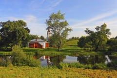 Opinión hermosa del país Imagen de archivo