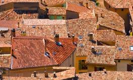 Opinión histórica urbana de la ciudad Foto de archivo libre de regalías