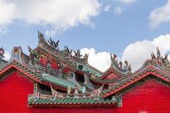 Opinión Hong San Si Chinese Temple foto de archivo libre de regalías