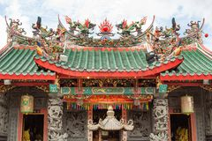 Opinión Hong San Si Chinese Temple fotos de archivo