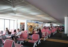 Opinión interior Don Mueang International Airport Fotografía de archivo libre de regalías