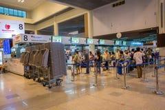 Opinión interior Don Mueang International Airport Fotos de archivo
