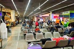 Opinión interior Don Mueang International Airport Imagen de archivo libre de regalías