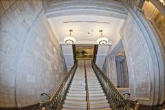 Opinión interna de la bóveda del capitol de Washington Imagenes de archivo