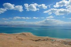 Opinión Israel de mar muerto Imágenes de archivo libres de regalías