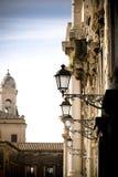 Opinión italiana de la calle fotos de archivo