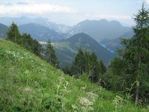 Opinión italiana de la montan@a Imagen de archivo libre de regalías