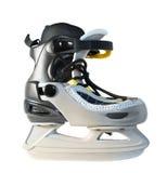 Opinión izquierda de los patines imagenes de archivo