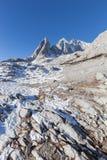Opinión Jade Dragon Snow Mountain Fotografía de archivo libre de regalías
