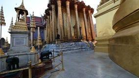 opinión 4K Wat Phra Kaew Temple de Emerald Buddha metrajes