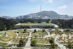 Opinión la academia de California de ciencias imagenes de archivo