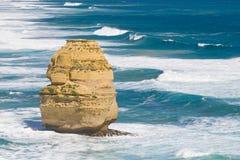 Opinión los 12 apóstoles en el gran camino del océano, Melbo Foto de archivo