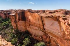 opinión los reyes Canyon, parque nacional de Watarrka, Territorio del Norte, Australia fotografía de archivo libre de regalías