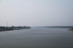 Opinión mí río de Khong Fotos de archivo libres de regalías