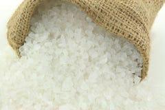 Opinión machacada roca del cierre de la sal. imagen de archivo