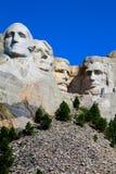 Opinión magnífica conmemorativa nacional del monte Rushmore Rushmore imagenes de archivo