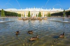 Opinión magnífica del palacio Foto de archivo