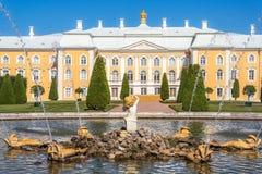 Opinión magnífica del palacio Foto de archivo libre de regalías