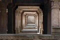 Opinión magnífica del well-A del paso de progresión de Adalaj fotografía de archivo libre de regalías