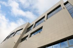 Opinión moderna del edificio Fotos de archivo