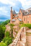 Opinión Mont Sainte-Odile, Alsacia, Francia Fotos de archivo libres de regalías