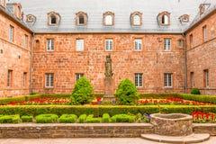 Opinión Mont Sainte-Odile, Alsacia, Francia Fotos de archivo