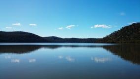 Opinión @ Mooney Mooney, Australia del río de Hawkesbury Foto de archivo libre de regalías