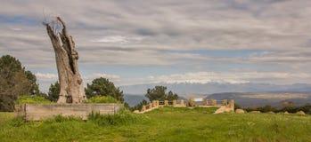 Opinión otoñal Sierra de Gredos imagenes de archivo