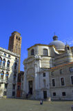 Opinión pacífica de Venecia Imagen de archivo