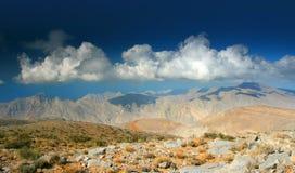 Opinión pacífica sobre las montañas imagen de archivo libre de regalías