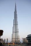 Opinión panorámica de Burj Dubai/de Burj Khalifa Imagen de archivo libre de regalías