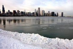 Opinión panorámica de Chicago foto de archivo