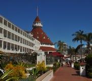 Opinión panorámica de Del Coronado del hotel Foto de archivo