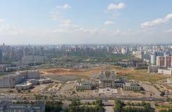 Opinión panorámica de Moscú Fotos de archivo libres de regalías
