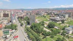 Opinión panorámica de Pristina metrajes