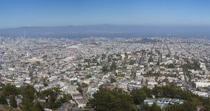 Opinión panorámica de San Francisco Imágenes de archivo libres de regalías