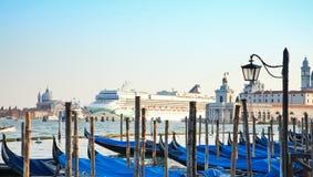 Opinión panorámica de Venecia Imagen de archivo libre de regalías