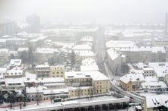 Tiempo del invierno Imagenes de archivo