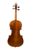 Opinión posterior del violín Imagen de archivo libre de regalías