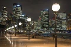 Opinión Quay circular, Sydney, Australia fotografía de archivo