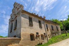 Opinión romántica de la casa de Petofi Sandor del poeta Foto de archivo