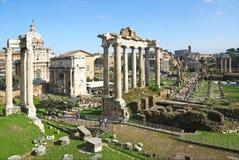 Opinión Roman Forum Imagen de archivo