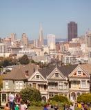 Opinión San Francisco de la calle Fotografía de archivo libre de regalías