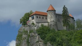 Opinión sangrada eslovena del castillo metrajes