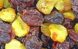 Opinión secada del cierre de la mezcla de la cereza Foto de archivo libre de regalías