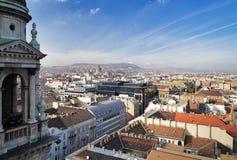 Opinión sobre Budapest Fotografía de archivo