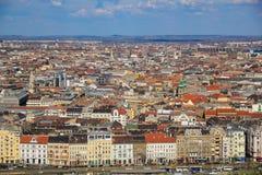 Opinión sobre Budapest Imágenes de archivo libres de regalías