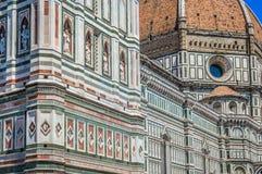 Opinión sobre catedral en Florence Italy Fotografía de archivo