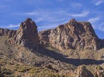 Opinión sobre catedral famosa de la formación de roca en Roques de García y Fotos de archivo libres de regalías